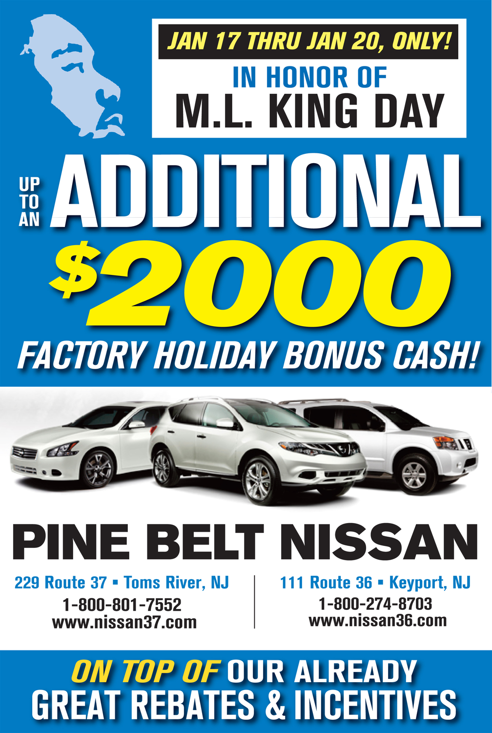 EXTRA $2,000 Now Available At Pine Belt Nissan